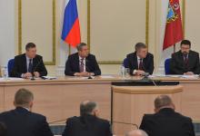 ПРошло заседание антитеррористической комиссии и оперативного штаба в Брянской области