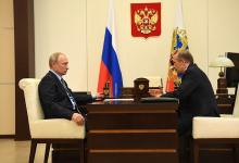 Состоялась встреча Президента России Владимира Путина с директором ФСБ России, председателем НАК Александром Бортниковым