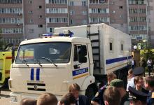В Казани вооруженный преступник открыл стрельбу в гимназии