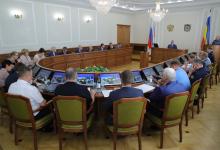 Совместное заседание антитеррористической комиссии и оперативного штаба в Ростовской области.