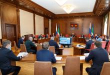 В Республике Коми проведено заседание Антитеррористической комиссии