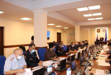 Совместное заседание антитеррористической комиссии и оперативного штаба проведено в в Республике Саха (Якутия)