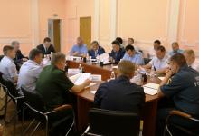 Совместное заседание антитеррористической комиссии и оперативного штаба в Забайкальском крае