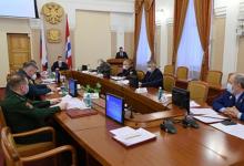 Проведено заседание антитеррористической комиссии в Омской области