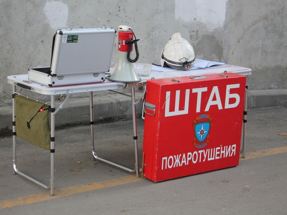 Место управления руководителей функциональных групп РХБР и ЛПТА