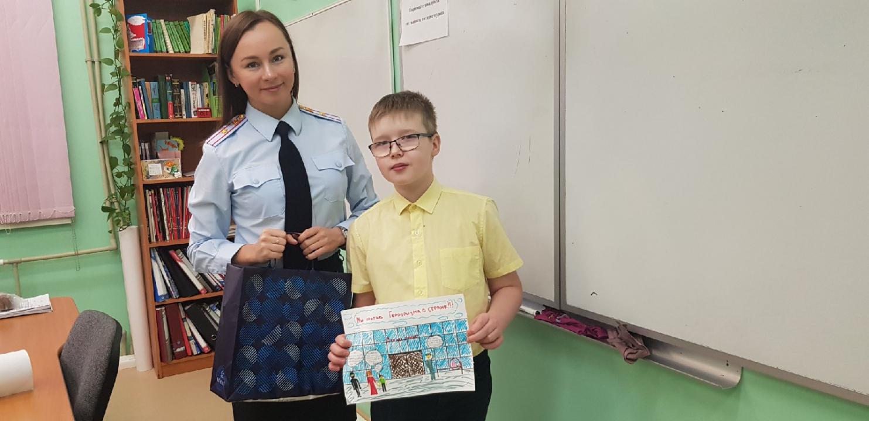 Конкурс детских рисунков «Дети против террора»