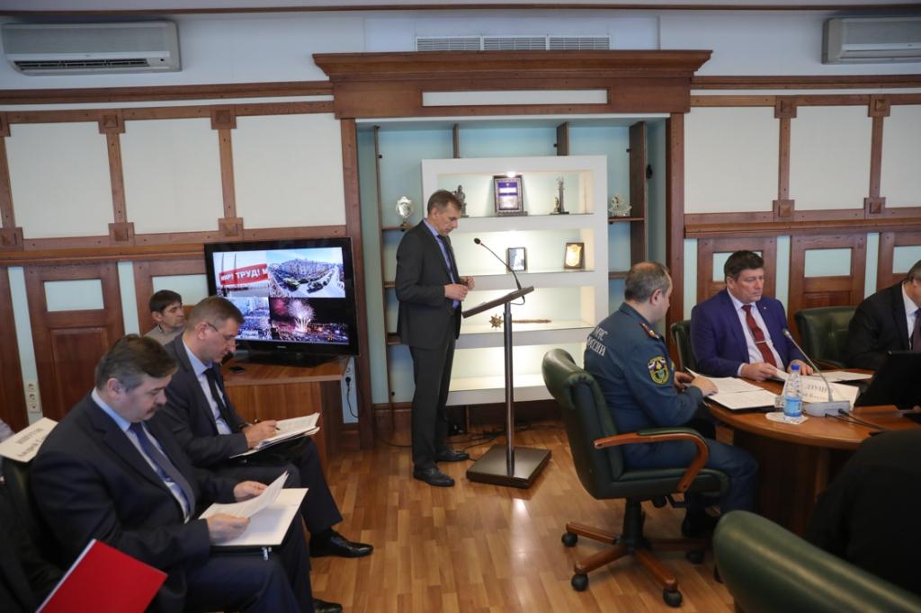Прошло совместное заседание антитеррористической комиссии Приморского края и Оперативного штаба в Приморском крае