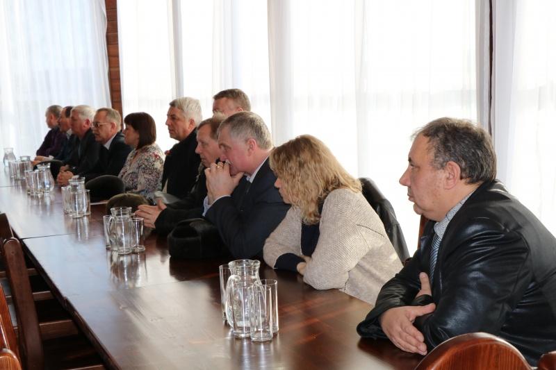 Участники семинара на лекции об организации безопасности при проведении спортивных мероприятий международного уровня