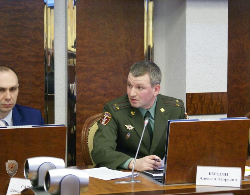 Руководители силовых ведомств и надзорных органов доложили  о мерах по выявлению и предотвращению угроз совершения террористических актов