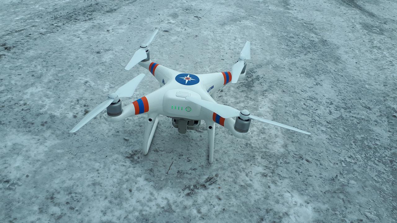 БПЛА группа организации и контроля применения беспилотных авиационных систем ГУ МЧС России по Республике Тыва