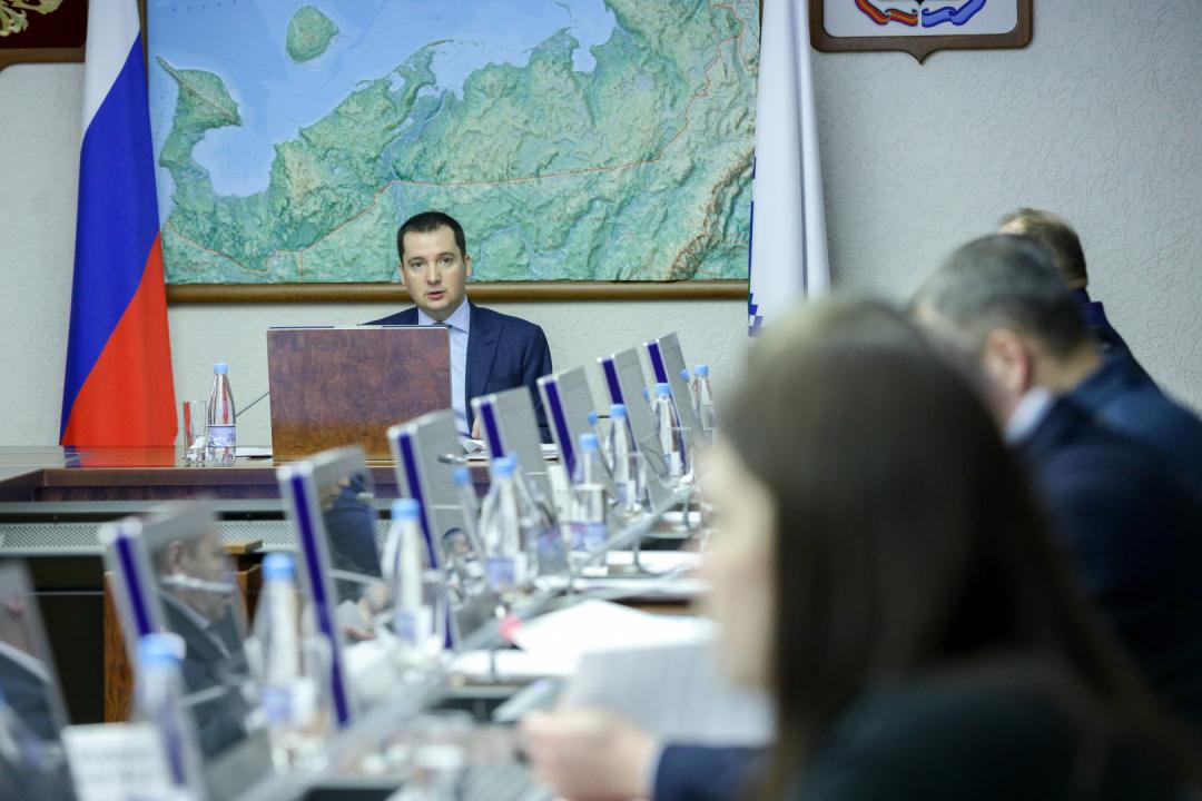 Заседание прошло под председательством губернатора Ненецкого автономного округа А.В. Цыбульского