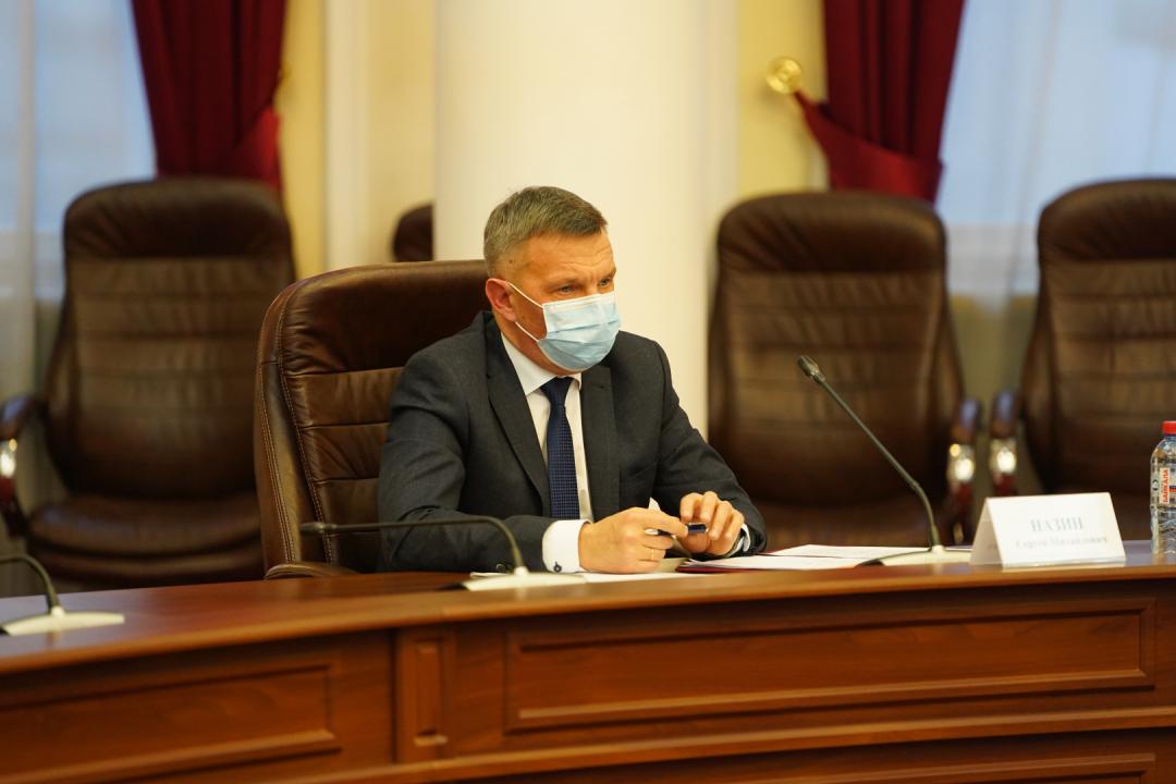 Докладчик – заместитель начальника Восточно-Сибирской железной дороги по безопасности и режиму С.М. Назин