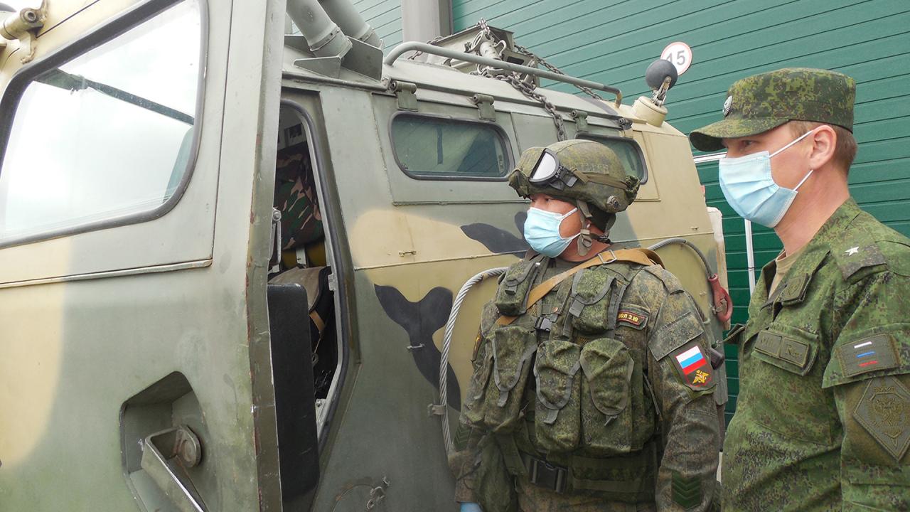 Оперативным штабом  в Республике Тыва проведено антитеррористическое командно-штабное учение
