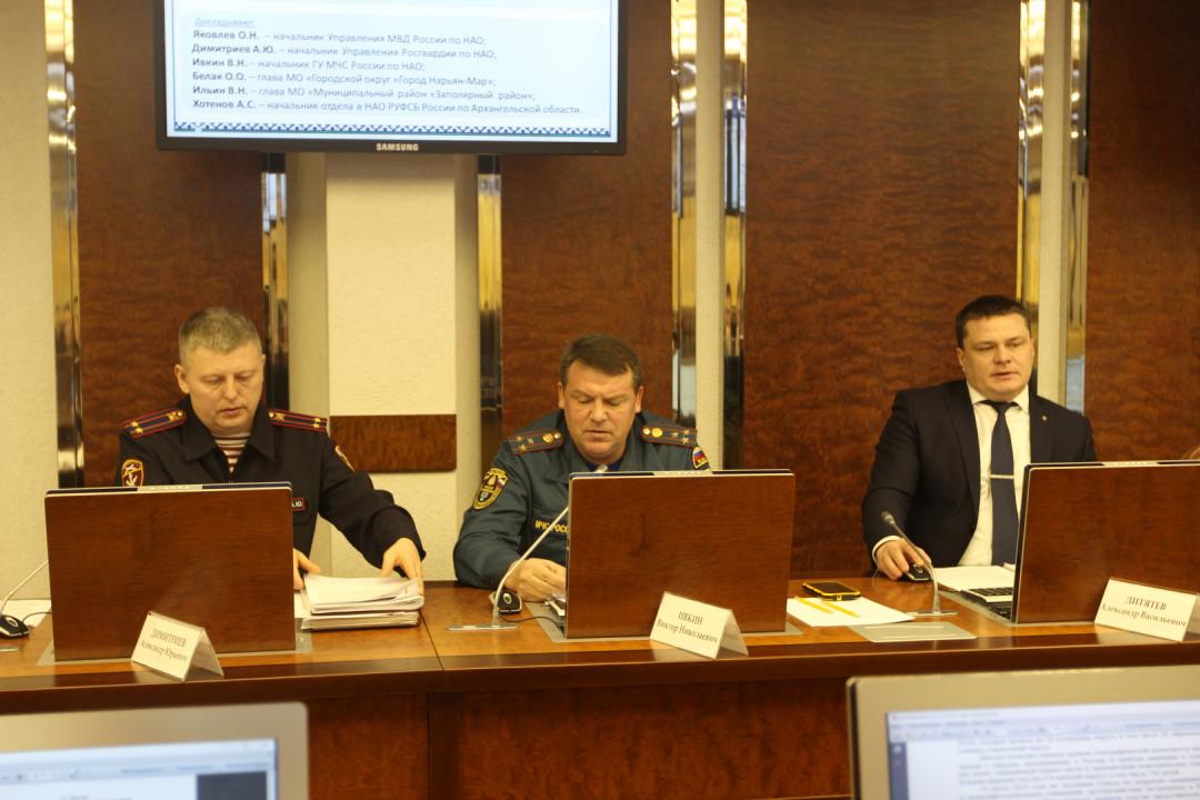 Александр Цыбульский провел итоговое заседание окружной Антитеррористической комиссии