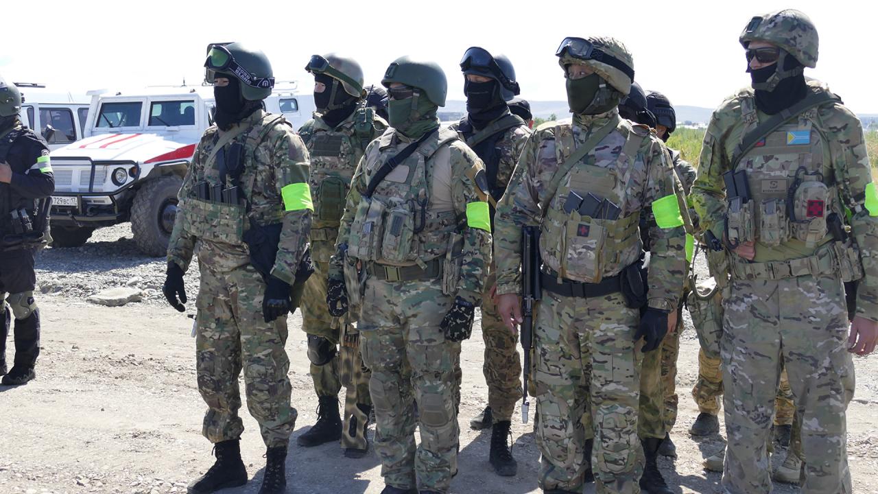 На территории столицы Республики Тыва проведено антитеррористическое командно-штабное учение
