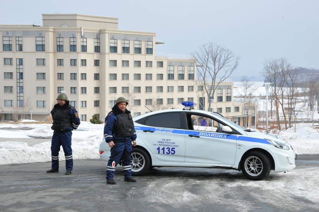Группа организации дорожного движения по плану ППМ на территории кампуса ДВФУ
