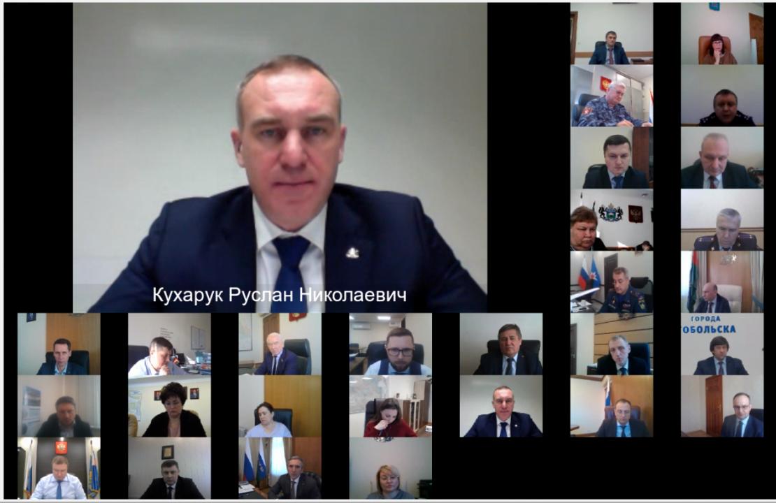 Председатель АТК г. Тюмени, Глава города Тюмени Кухарук Руслан Николаевич