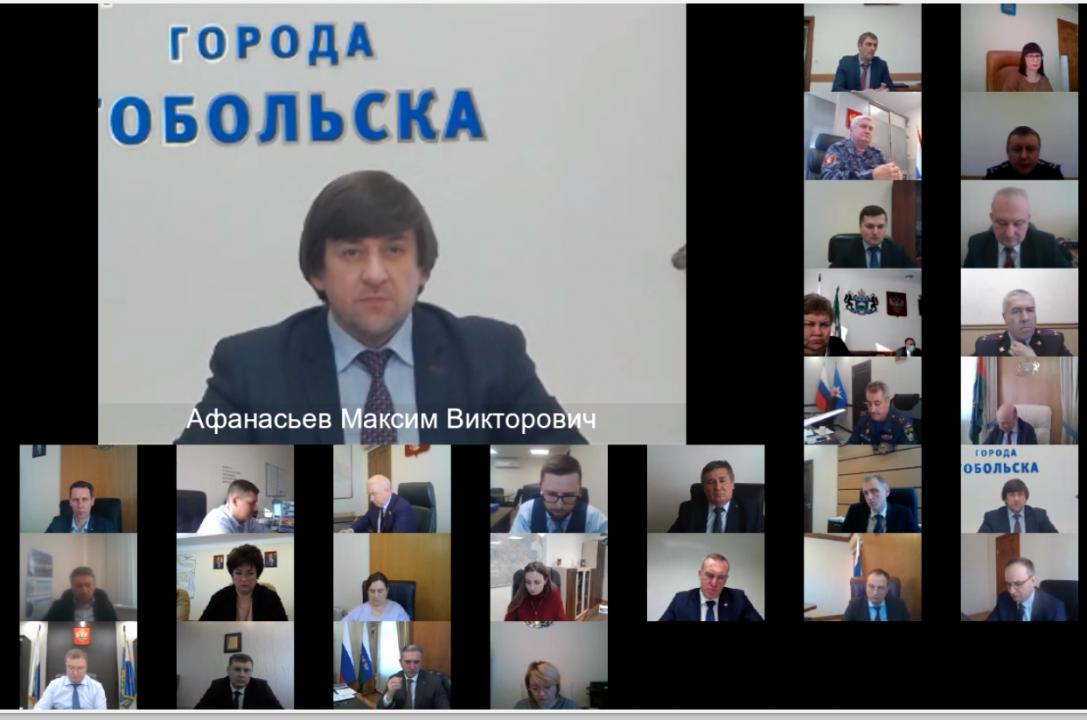 Председатель АТК г. Тобольска, Глава города Тобольска Афанасьев Максим Викторович