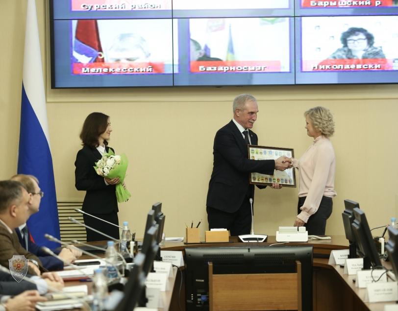 Губернатор Ульяновской области С.И.Морозов  провел совместное заседание антитеррористической комиссии, оперативного штаба в Ульяновской области и Совета безопасности