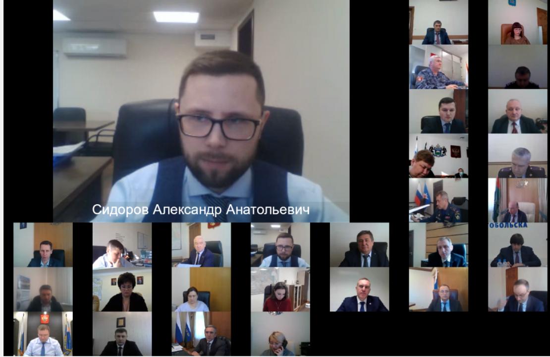 Директор Департамента труда и занятости населения Тюменской области Сидоров Александр Анатольевич