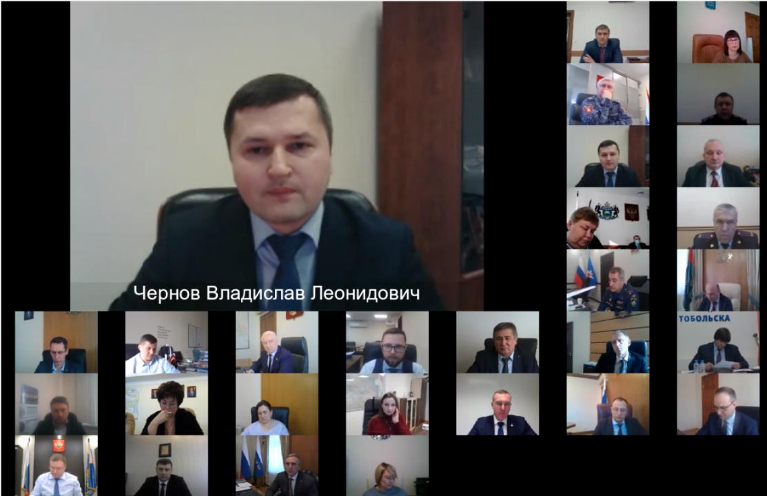 Председатель Комитета по делам национальностей Тюменской области Чернов Владислав Леонидович
