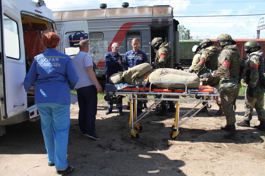 В Костромской области проведено тактико-специальное учение