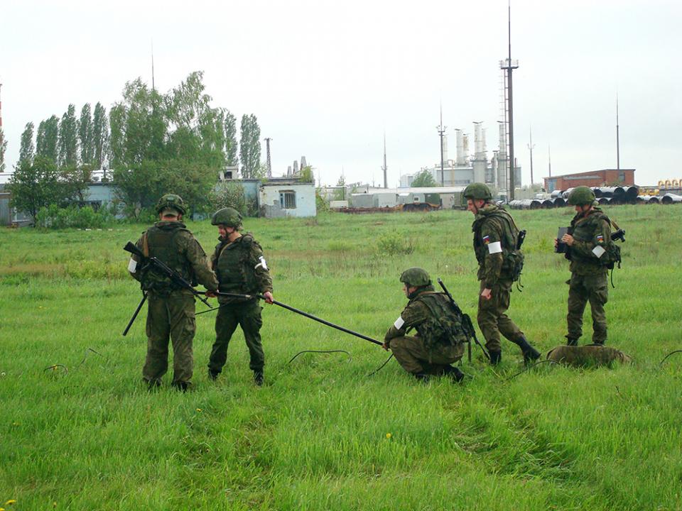 Развертывание радиосредств Министерства обороны Российской Федерации