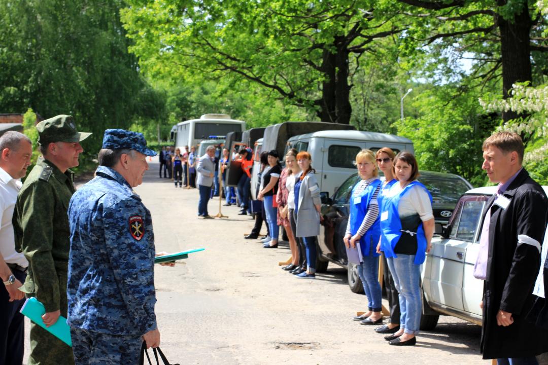 Оперативным штабом в Тамбовской области проведено тактико-специальное учение по пресечению террористического акта на объекте промышленности