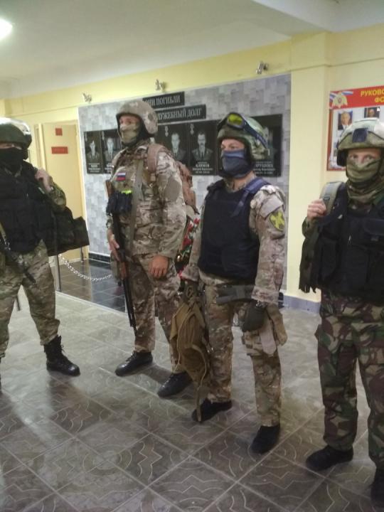 Оперативным штабом в Саратовской области проведено антитеррористическое командно-штабное учение