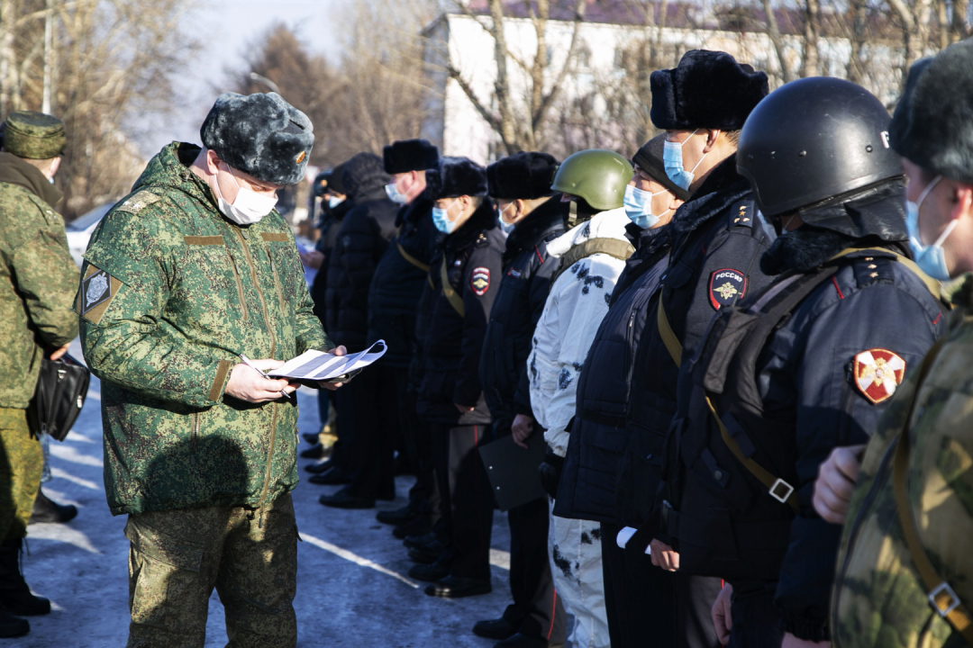 В Республике Тыва проведено антитеррористическое учение