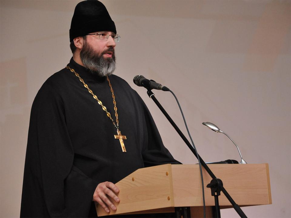 Выступление представителя Самарской и Сызранской епархии Русской православной церкви