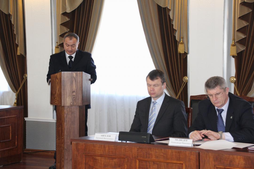Заседание Антитеррористической комиссии в Магаданской области, 19 февраля 2016 года