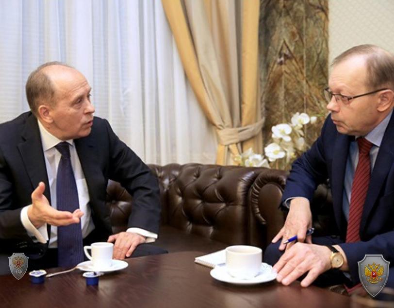 Разговор Директора ФСБ России А. Бортникова с главным редактором