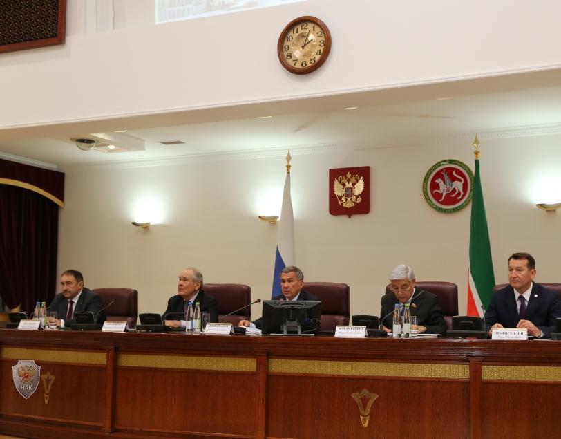 В Казанском Кремле  состоялось заседание Антитеррористической комиссии в Республике Татарстан