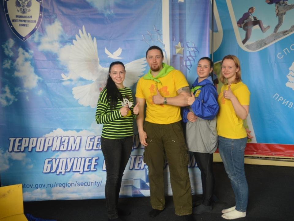 Участники спортивно-туристского лагеря ПФО «Туриада-2017».