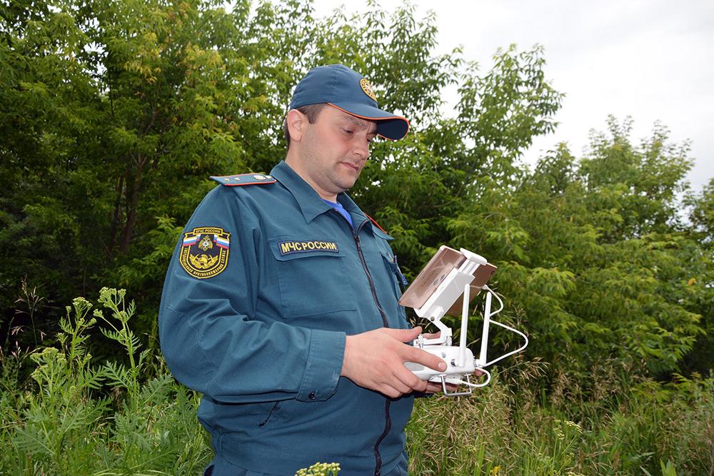 Тактико-специальное антитеррористическое учение в Республике Мордовия: работа оператора беспилотного летательного аппарата