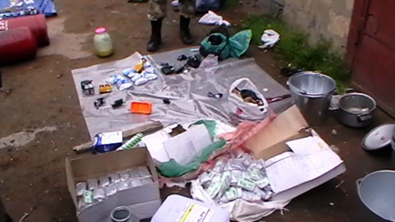 В Дербенте обнаружена подпольная лаборатория, принадлежавшая нейтрализованным бандитам