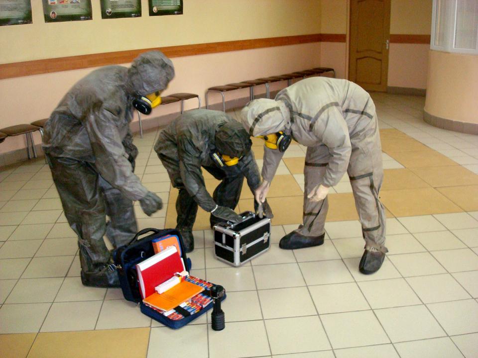 Изъятие источника химического вещества