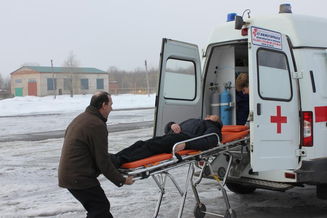 Оказание медицинской помощи «пострадавшим заложникам»