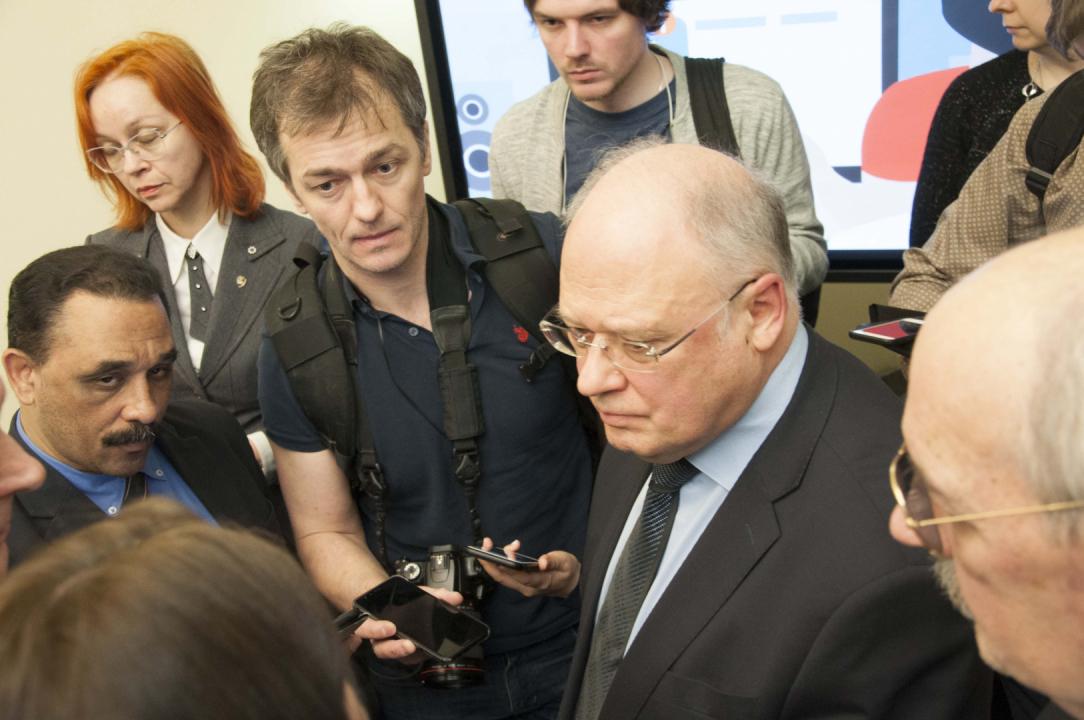 В пресс-центре МИД России состоялась пресс-конференция НАК для российских и иностранных журналистов