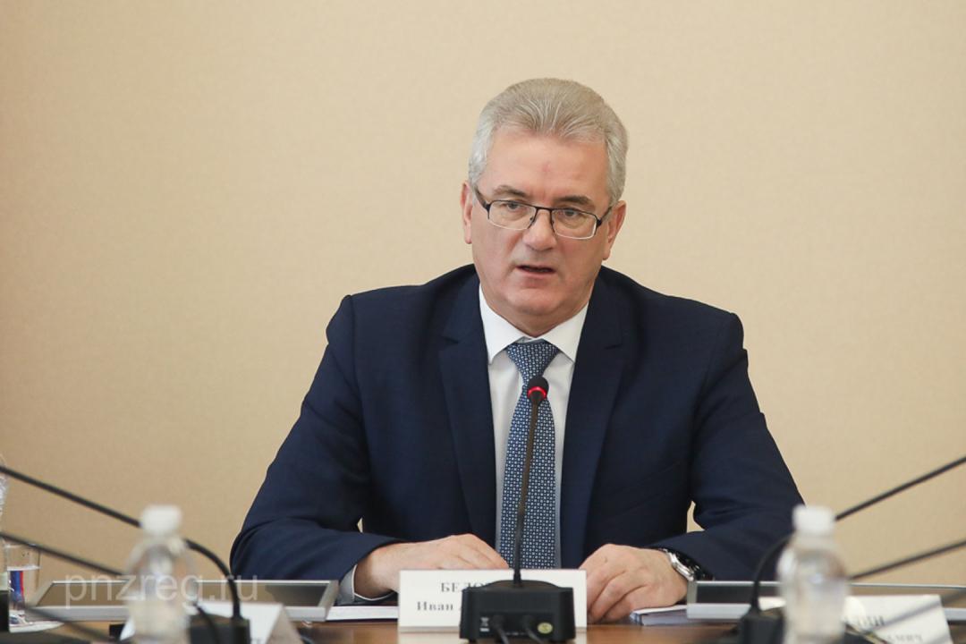 Открытие председателем АТК, Губернатором     Белозерцевым И.А. совместного заседания АТК в Пензенской области и Оперативного штаба в Пензенской области