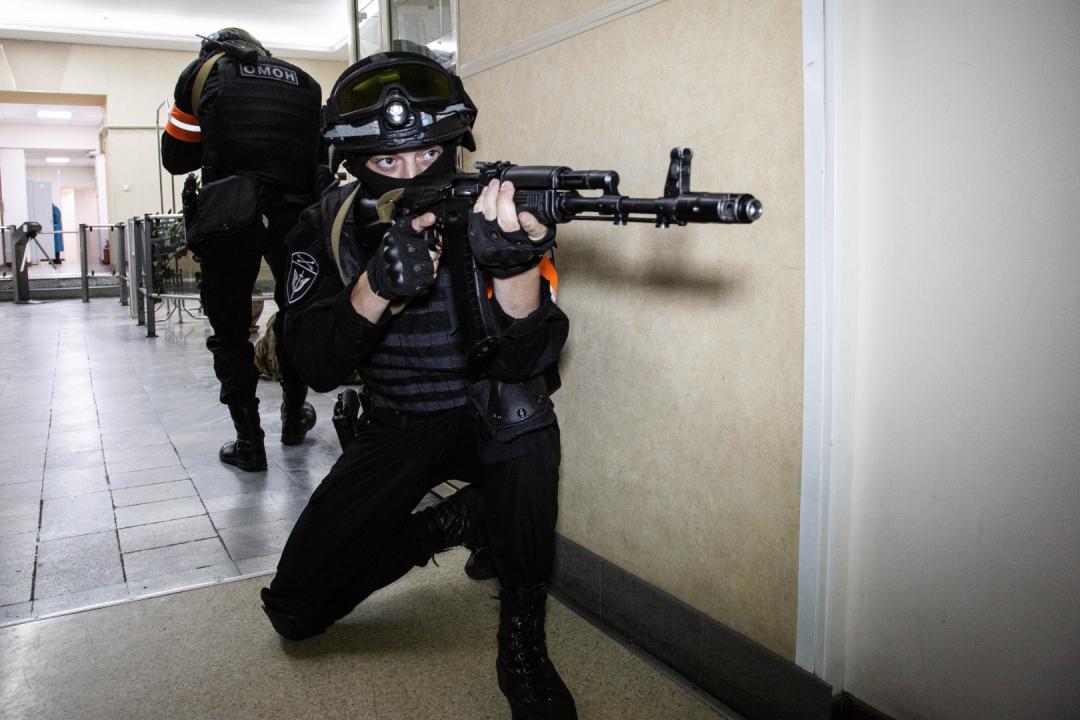 В Иркутске прошло антитеррористическое учение