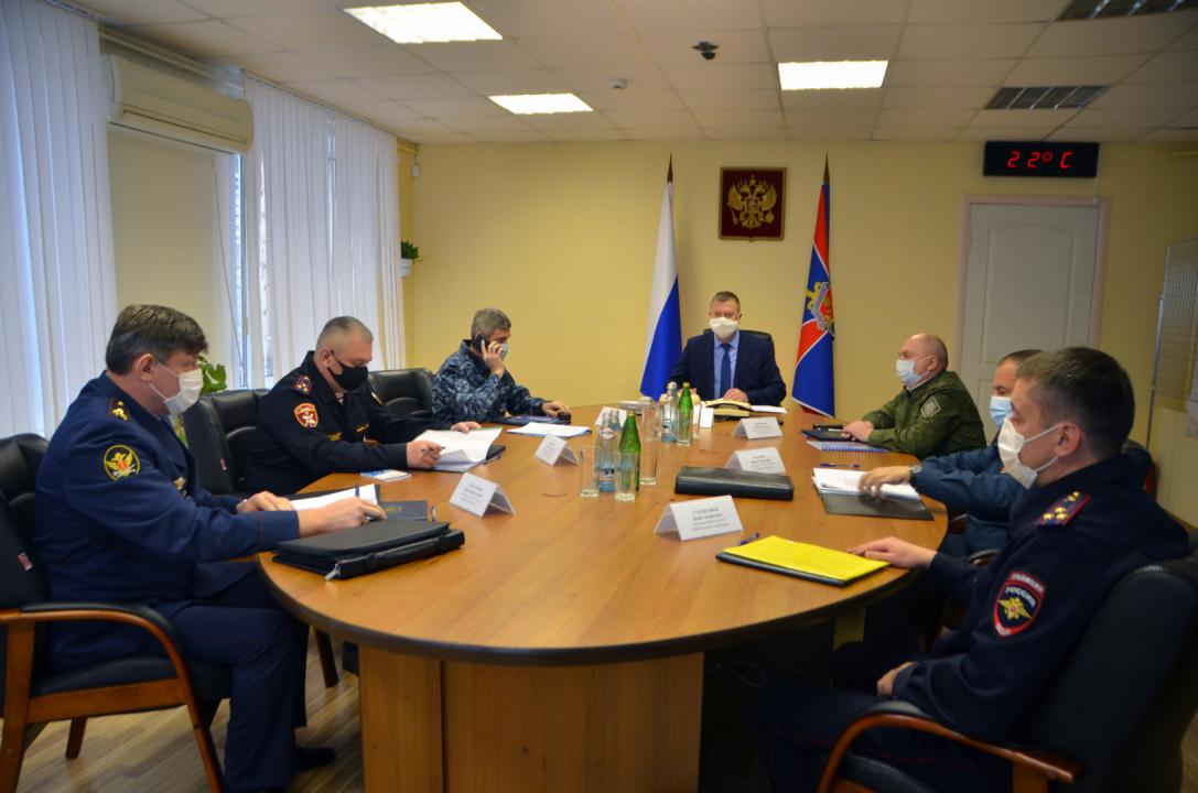 В Брянске проведены командно-штабные учения