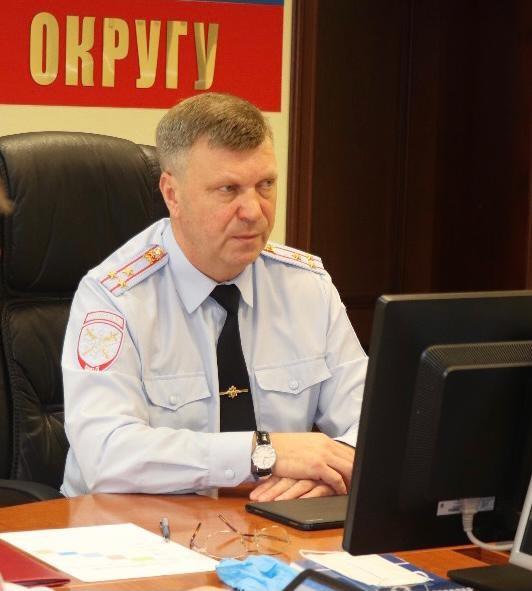 Начальник УТ МВД по ЮФО И.А. Авдеев
