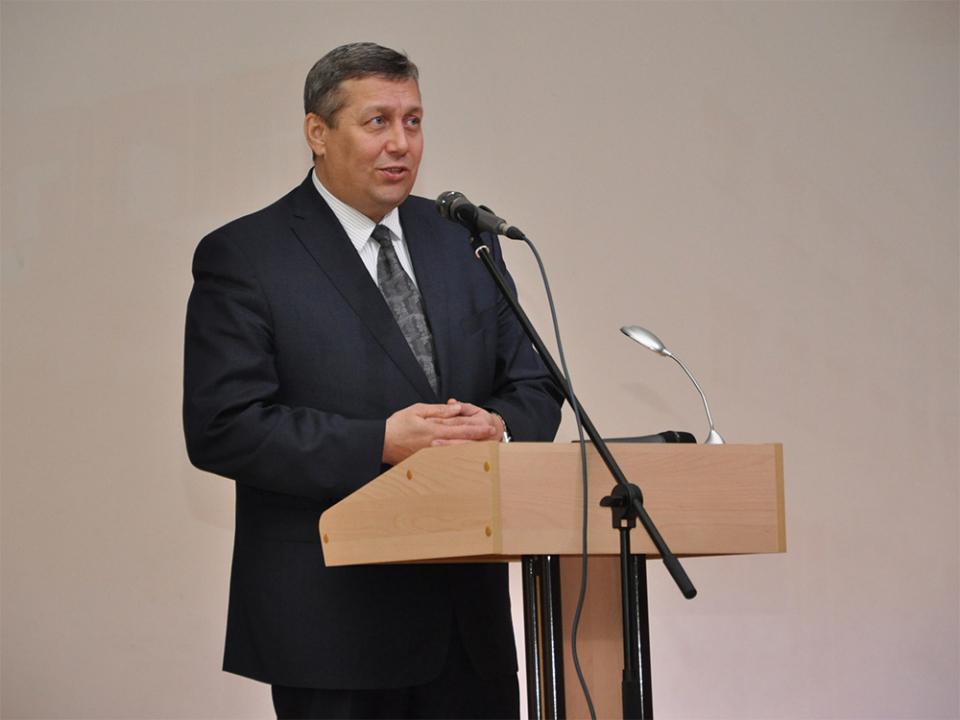 Выступление ректора Самарского государственного университета путей сообщения