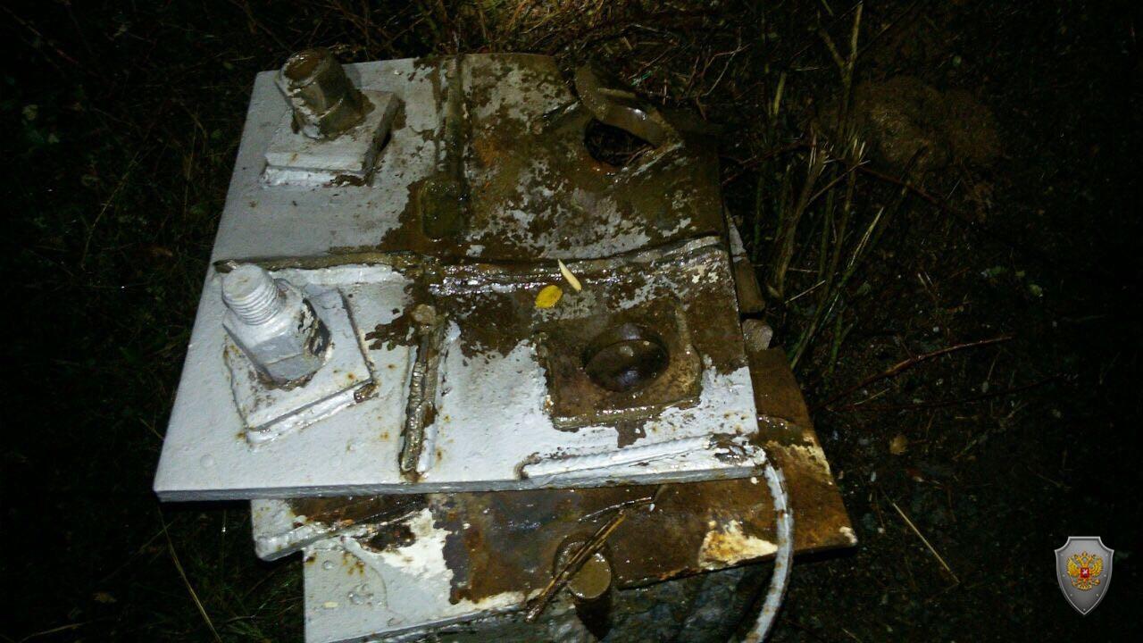 В Крыму обнаружено повреждение линии газопровода
