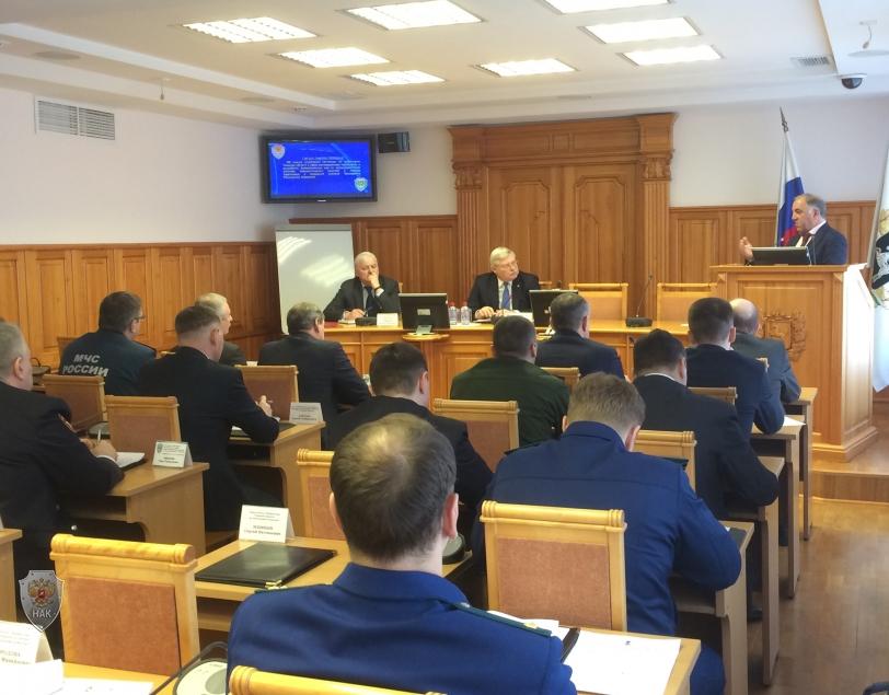 Заседание антитеррористической комиссии в Томской области    13 февраля 2018 года