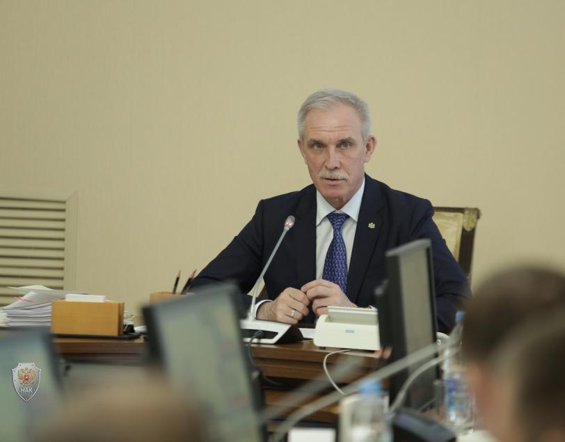Открытие совместного заседания антитеррористической комиссии в Ульяновской области и оперативного штаба в Ульяновской области