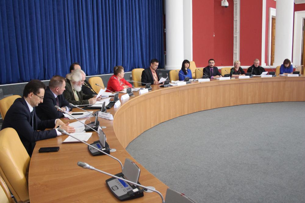 Заседание Экспертного совета по выработке информационной политики в сфере профилактики терроризма в Орловской области 27 апреля 2018 года