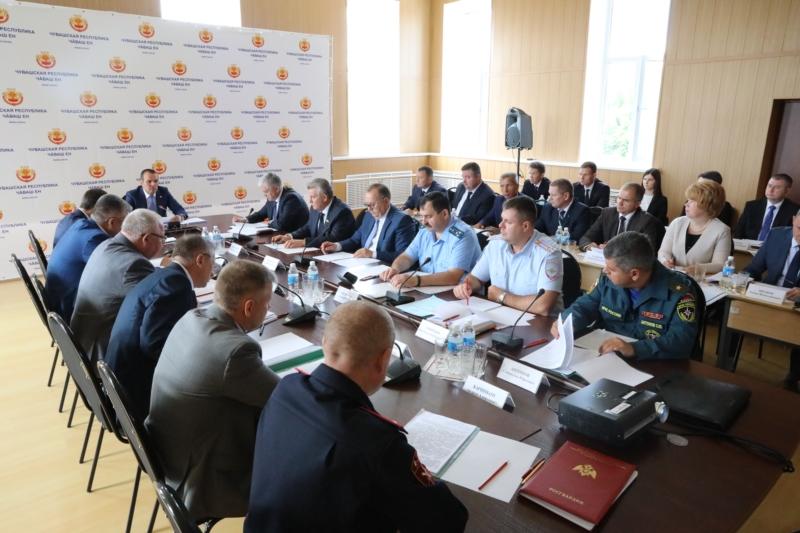 Михаил Игнатьев провел выездное заседание антитеррористической комиссии в Чувашской Республике